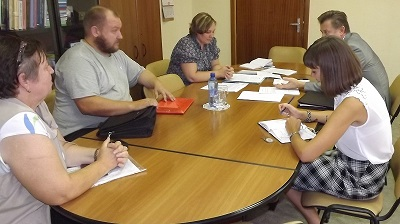 Уполномоченный Т.В. Журик и начальник УФМС России по Саратовской области В.А. Мальков провели рабочую встречу и совместный прием граждан