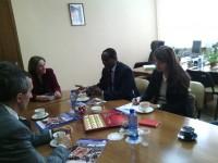 Состоялась встреча Уполномоченного по правам человека с Представителем Управления Верховного комиссара ООН по делам беженцев в России
