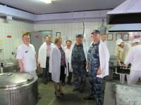 Уполномоченный Татьяна Журик посетила исправительную колонию № 10