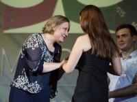 Татьяна Журик отметила специальным призом одного из победителей конкурса «Мир права»