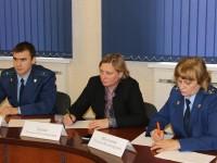 В Марксовском районе Уполномоченным по правам человека и работниками прокуратуры проведен совместный прием граждан