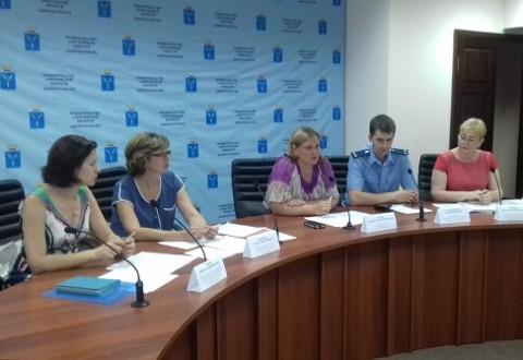 Сотрудники областного министерства социального развития провели обучающий семинар для помощников Уполномоченного