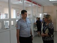 Уполномоченный по правам человека Т.В. Журик посетила Миграционный центр