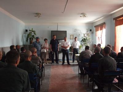 Состоялось плановое посещение ФКУ ИК-2  УФСИН России по Саратовской области