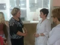 Уполномоченный посетил городскую поликлинику № 1 г.Балаково