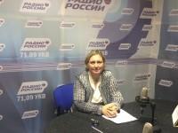 Т.В. Журик ответила на вопросы жителей области в прямом эфире «Радио России. Саратов»
