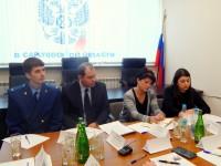 Представитель аппарата Уполномоченного по правам человека в Саратовской области принял  участие в заседании «круглого стола», посвященного защите трудовых прав людей с ограниченными возможностями