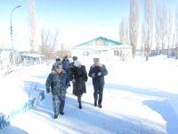 Посещение колоний-поселений в Красноармейском районе