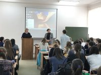 Встреча со студентами юридического факультета СГУ имени. Н.Г. Чернышевского