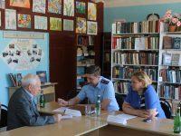 Уполномоченный по правам человека в  Саратовской области и прокурор Саратовской области  посетили Ивантеевский район