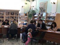 В областной универсальной научной библиотеке состоялся единый прием граждан