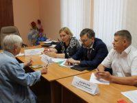 Посещение  Лысогорского района