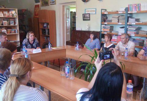 Посещение Базарно-Карабулакского и Новобурасского районов
