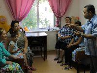 Уполномоченный по правам человека Т.В. Журик посетила Центр временного размещения вынужденных переселенцев и беженцев.