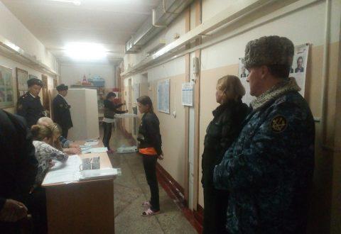 В день выборов Уполномоченный посетил места принудительного содержания в целях мониторинга ситуации с соблюдением избирательных прав граждан