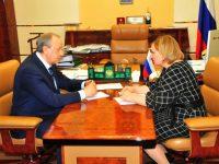 Губернатор Саратовской области провел встречу с Уполномоченным по правам человека в Саратовской области