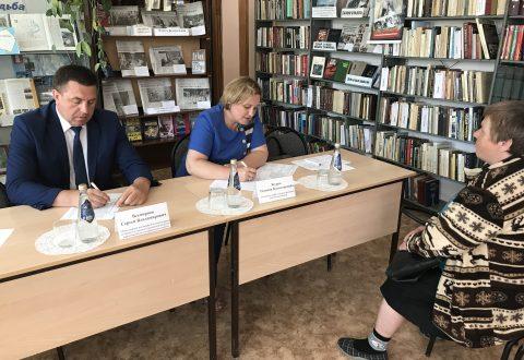 Уполномоченный провел прием жителей  Красноармейского района