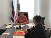Уполномоченный провела личный прием граждан в Управлении по работе с обращениями граждан Правительства Саратовской области