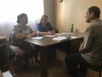Уполномоченный по правам человека в Саратовской области посетила Александрово-Гайский муниципальный район