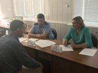 Уполномоченный по правам человека в Саратовской области посетила Перелюбский муниципальный район