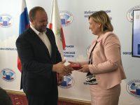 Т.В. Журик награждена Центральной избирательной комиссией Российской Федерации медалью «За содействие в организации выборов»