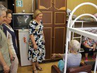 Уполномоченный по правам человека Т.В. Журик посетила центр для лиц без определённого места жительства
