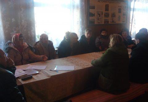 Т.В. Журик встретилась с жителями с. Белгаза Аткарского  района