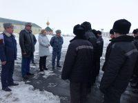 Уполномоченный по правам человека и прокурор области посетили исправительную колонию №7 в Красноармейском районе