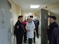 Уполномоченный по правам человека Т.В. Журик посетила Центр временного содержания иностранных граждан
