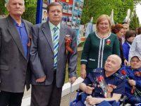 Татьяна Журик поздравила ветеранов Энгельсского дома-интерната для престарелых и инвалидов с Днём Победы