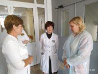 Уполномоченный посетил Саратовскую городскую клиническую больницу № 2 им.В.И.Разумовского