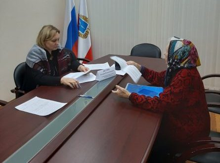 Состоялся личный прием граждан в приемной Президента Российской Федерации в Саратовской области