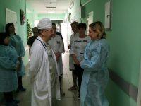 Уполномоченный посетил Саратовскую городскую клиническую больницу № 2 им. В.И.Разумовского