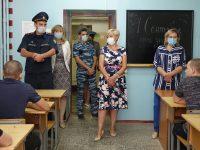 В День знаний Уполномоченный посетила несовершеннолетних следственно-арестованных, содержащихся в СИЗО-1