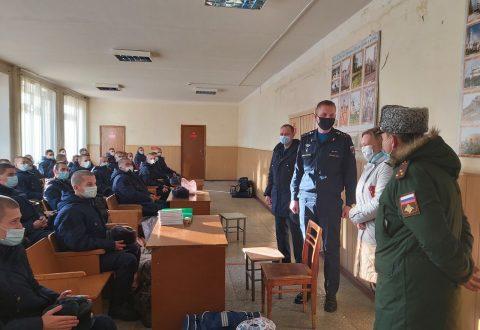 Уполномоченный посетила сборный пункт Военного комиссариата Саратовской области