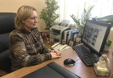 Татьяна Журик принимает участие в заседании Координационного  совета уполномоченных по правам человека, посвященного  защите прав человека в период пандемии