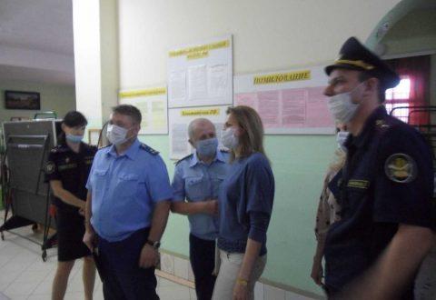 Уполномоченный по правам человека в Саратовской области посетила ФКУ СИЗО-1 УФСИН России по Саратовской области
