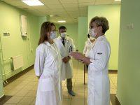 Уполномоченный по правам человека в Саратовской области посетила  ГУЗ СО «Клинический перинатальный центр Саратовской области»